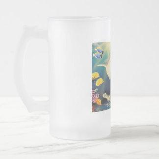Patio dichoso taza de cristal