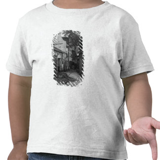 Patio en la ruda Larrey 8, París, 1858-78 Camisetas