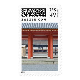 Patio imperial del palacio de Japón, Kyoto, Kyoto Estampillas