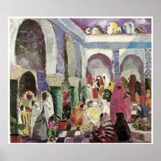 Patio in Algiers, Charles Dufresne Print