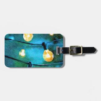 Patio Lights Bag Tag