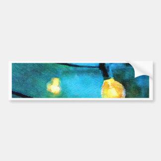 Patio Lights Bumper Sticker