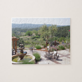Patio of Croad Tasting Room, Paso Robles Jigsaw Puzzles