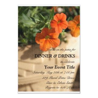 Patio or Garden Party Custom Invitation