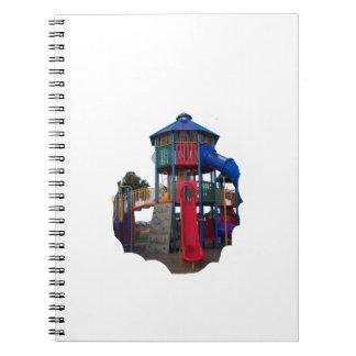 Patio primario colorido Equipme de las diapositiva Libro De Apuntes