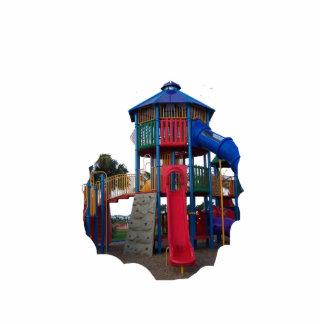 Patio primario colorido Equipme de las diapositiva Esculturas Fotograficas