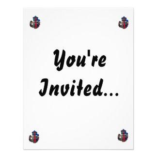 Patio primario colorido Equipme de las diapositiva Invitaciones Personalizada