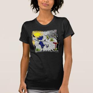 Patio trasero Birding Camiseta