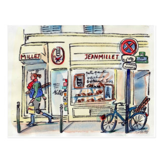 Patisserie París del mijo de Jean por el Postales