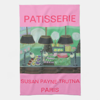PATISSERIE PARIS HAND TOWEL