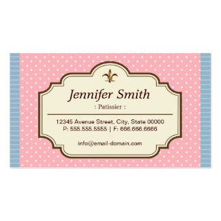 Patissier - lunares lindos tarjetas personales