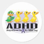 Patito feo de ADHD Pegatinas