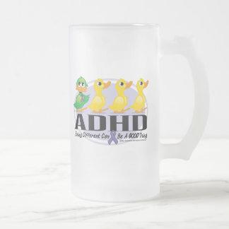 Patito feo de ADHD Taza De Cristal