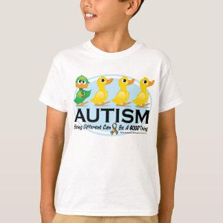 Patito feo del autismo remeras