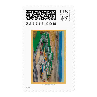 Patmars Motel and Modern Drive-InState Postage Stamp