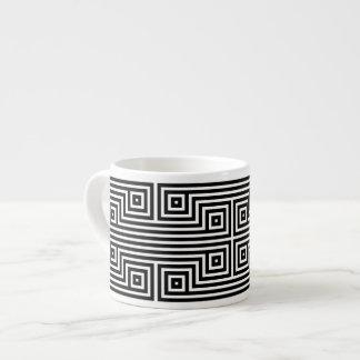 Patmos blanco y negro taza espresso