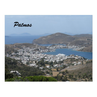 Patmos, Grecia Postales