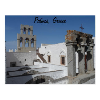 Patmos, Grecia Tarjeta Postal