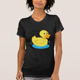 Pato afortunado tshirts