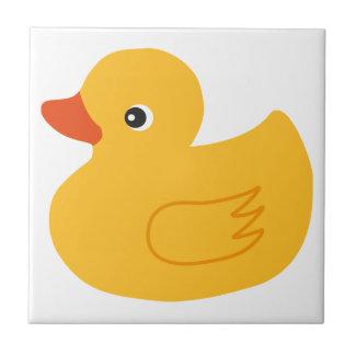 Pato amarillo teja
