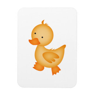 Pato amarillo lindo iman