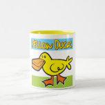 Pato amarillo taza