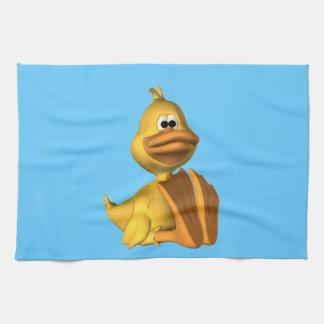 Pato amarillo toalla