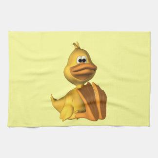 Pato amarillo toallas de cocina