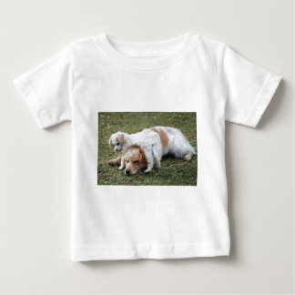 "Pato and Precious Poodle Pup ""Patience"" Baby T-Shirt"