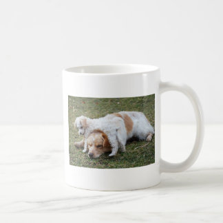 "Pato and Precious Poodle Pup ""Patience"" Mugs"
