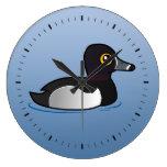 Pato Anillo-necked de Birdorable Reloj De Pared