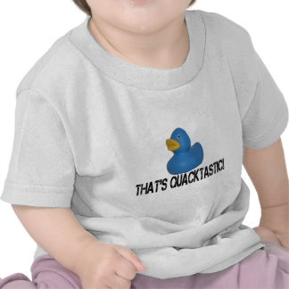 Pato azul camiseta