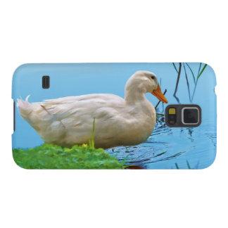 Pato blanco de Pekin Funda Para Galaxy S5