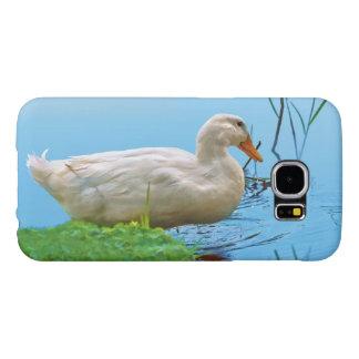 Pato blanco de Pekin Funda Samsung Galaxy S6