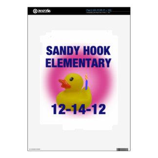 Pato, camisetas y regalos de goma del gancho de Sa iPad 2 Skins