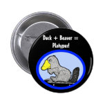 Pato + ¡Castor = Platypus! Pin