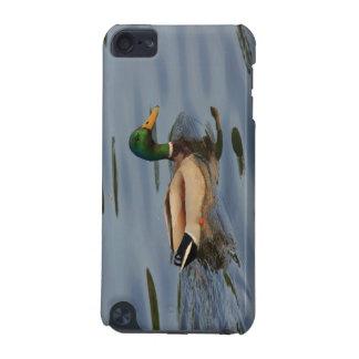 pato con descensos del agua funda para iPod touch 5G