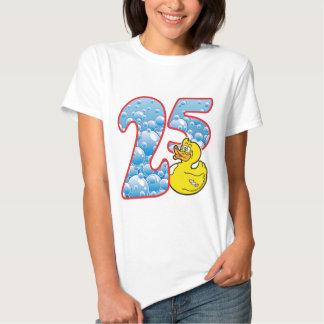 Pato de 25 edades playeras