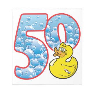Pato de 50 edades blocs