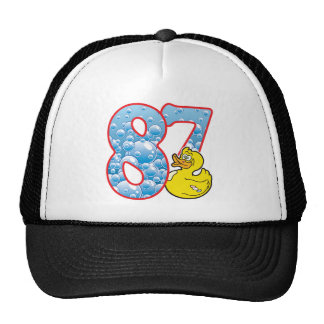 Pato de 87 edades gorras