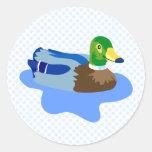 Pato de Dabnus Etiqueta Redonda