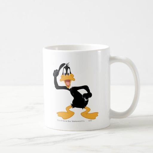 Pato de Daffy con una gran idea Taza