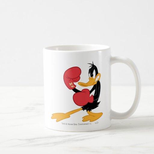 Pato de Daffy el boxeador Taza De Café