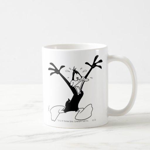 Pato de Daffy emocionado Taza De Café