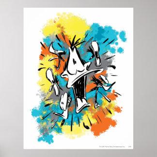 Pato de Daffy oh mi Quaaak Poster