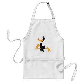 Pato de Daffy que está loco Delantales