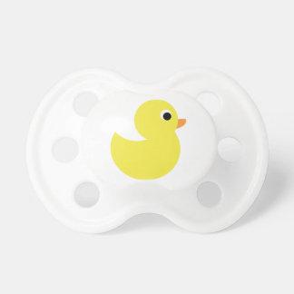 Pato de goma amarillo