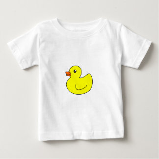 Pato de goma amarillo tee shirts