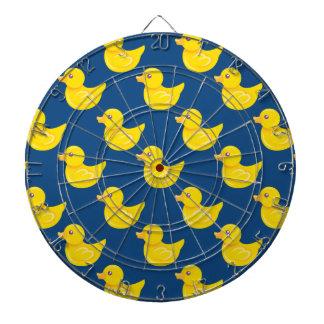 Pato de goma azul y amarillo, Ducky Tablero Dardos