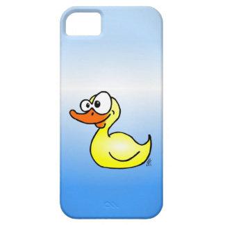 Pato de goma iPhone 5 cárcasas